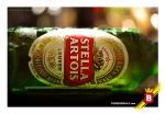 La elegante presentación de la Stella Artois
