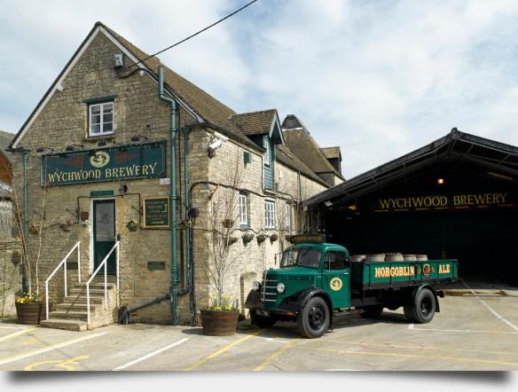 Wychwood Brewery, ubicada en las antiguas instalaciones de Eagle Brewery.