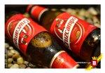 """Con el clásico """"Gambrino"""" en su etiqueta roja, la Cruzcampo es fácilmente reconocible por los españoles."""