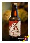 Esta es la Cucapá Clásica, cerveza artesanal producida en Mexicali Baja California.