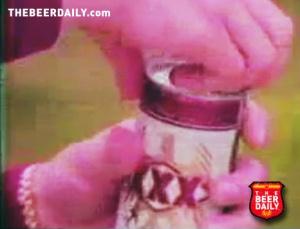 Una escena de un comercial de TV de XXX en 1981