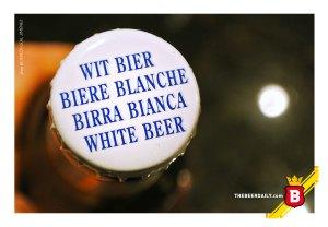 La corcholata de la Blanche de Bruxelles, sencillamente descriptiva.