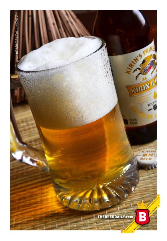 De cuerpo muy ligero y poco nivel de amargor, esta cerveza americana de origen japonés.