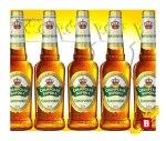 Una de las cervezas de la marca Sibirskaya Korona, producida en Moscú