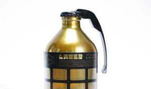Con todo y espoleta, estas 'granadas' cerveceras