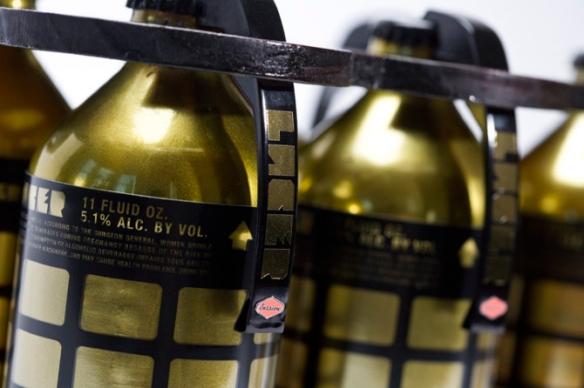 ¿Granadas doradas? No, sabrosa cerveza de Oregon