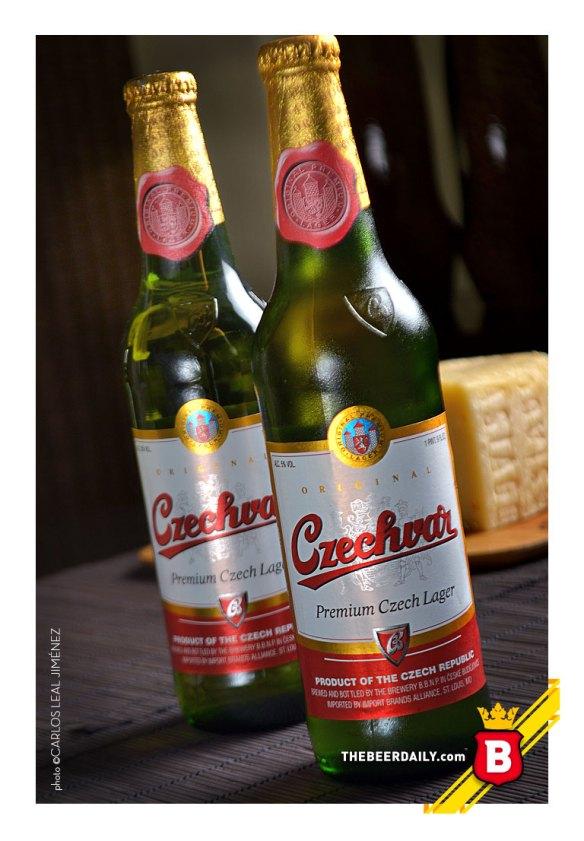 Budweiser, la deliciosa Lager Checa, conocida en Norteamérica como Czechbar