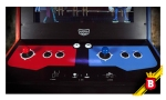Los clásicos controles de una máquina de Arcade