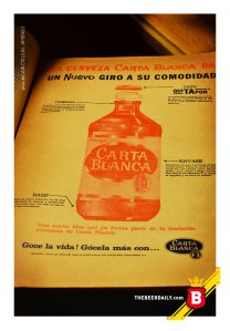 """Este anuncio de revista data de 1968 y presenta a la """"moderna"""" Quitapón"""