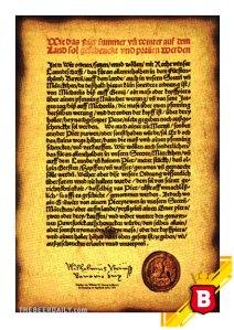 Este es el decreto original de 1516