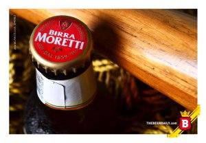 Birra Moretti, una de las cervezas más vendidas en Italia.