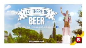 """Acá pueden ver el comercial de """"Let There Be Beer"""", al aire en UK"""
