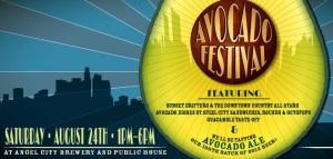 El Avocado Festival en L.A., donde se presentó esta cerveza de Angel City Brewery