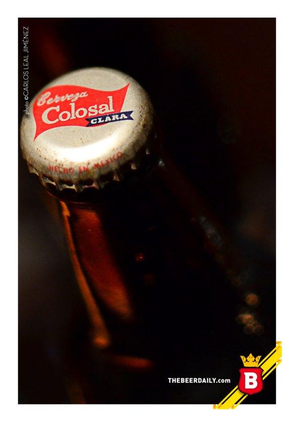 En buen estado las botellas de Colosal de la colección de TheBeerDaily.com