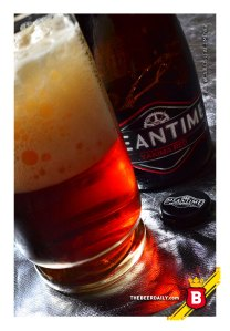 Un intenso color rojo, el de esta Yakima Red de Meantime