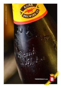 """El """"Aloha Líquido"""" , presente en la botella de estas cervezas hechas en Kona, Hawaii"""