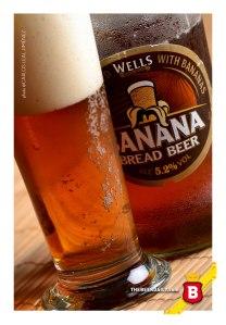 Aunque de tonos ámbar, esta cerveza vaya que sabe a plátano