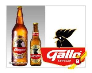 """La cerveza Gallo es famosa. Y también es """"Famosa"""""""