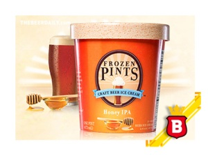 La versión Honey IPA de Frozen Pints
