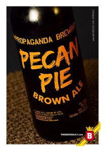 Ideal para compartir en estas fechas, la Pecan Pie Brown Ale