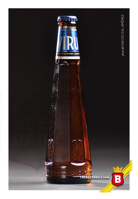 Una estética y diferente botella la de esta cerveza de Estonia