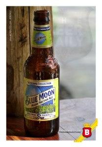 Esta es la Blue Moon Agave Nectar, una Blonde Ale