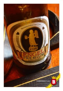 La sobria imagen de esta Engel Premium Pils