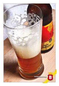 Una sabrosa cerveza sin filtrar, esta Sangre Brava