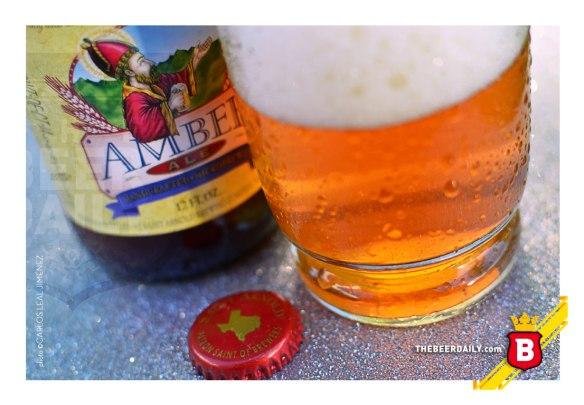Una deliciosa cerveza de color cobrizo esta Amber Ale