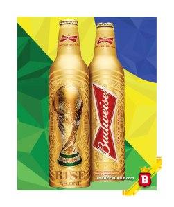 La botella conmemorativa de Budweiser para este evento