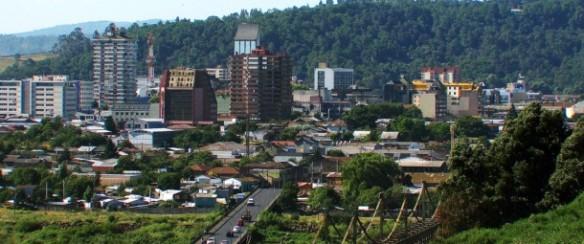 Panorámica de la ciudad de Temuco Chile, donde se llevará a cabo el certamen.