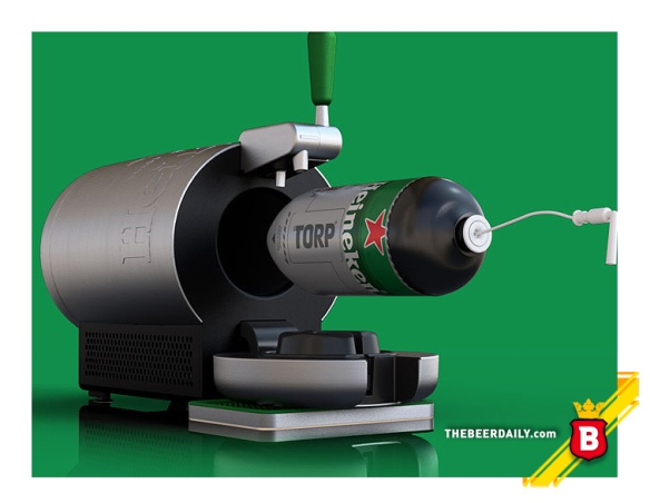 Así se carga el Torp en la máquina The Sub®