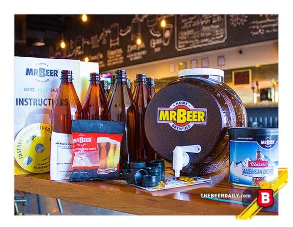 Este es uno de los kits del Mr. Beer