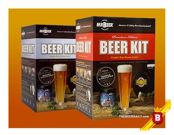 Distintas variedades de Kits ofrece el tal Mr. Beer