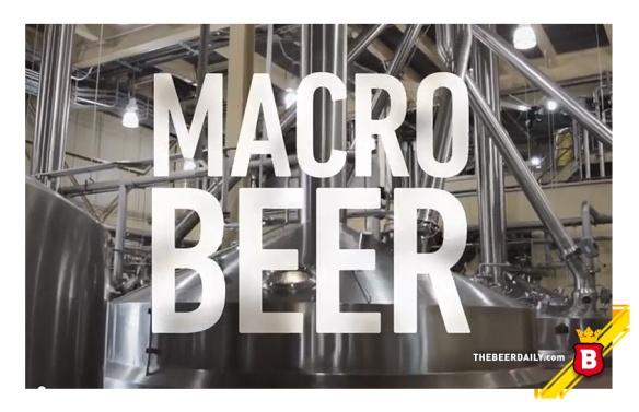 El mensaje de Budweiser es claro: Bud es una cerveza Macro, industrializada y  medio enemiga de la cerveza artesanal y así lo ponen en su comercial